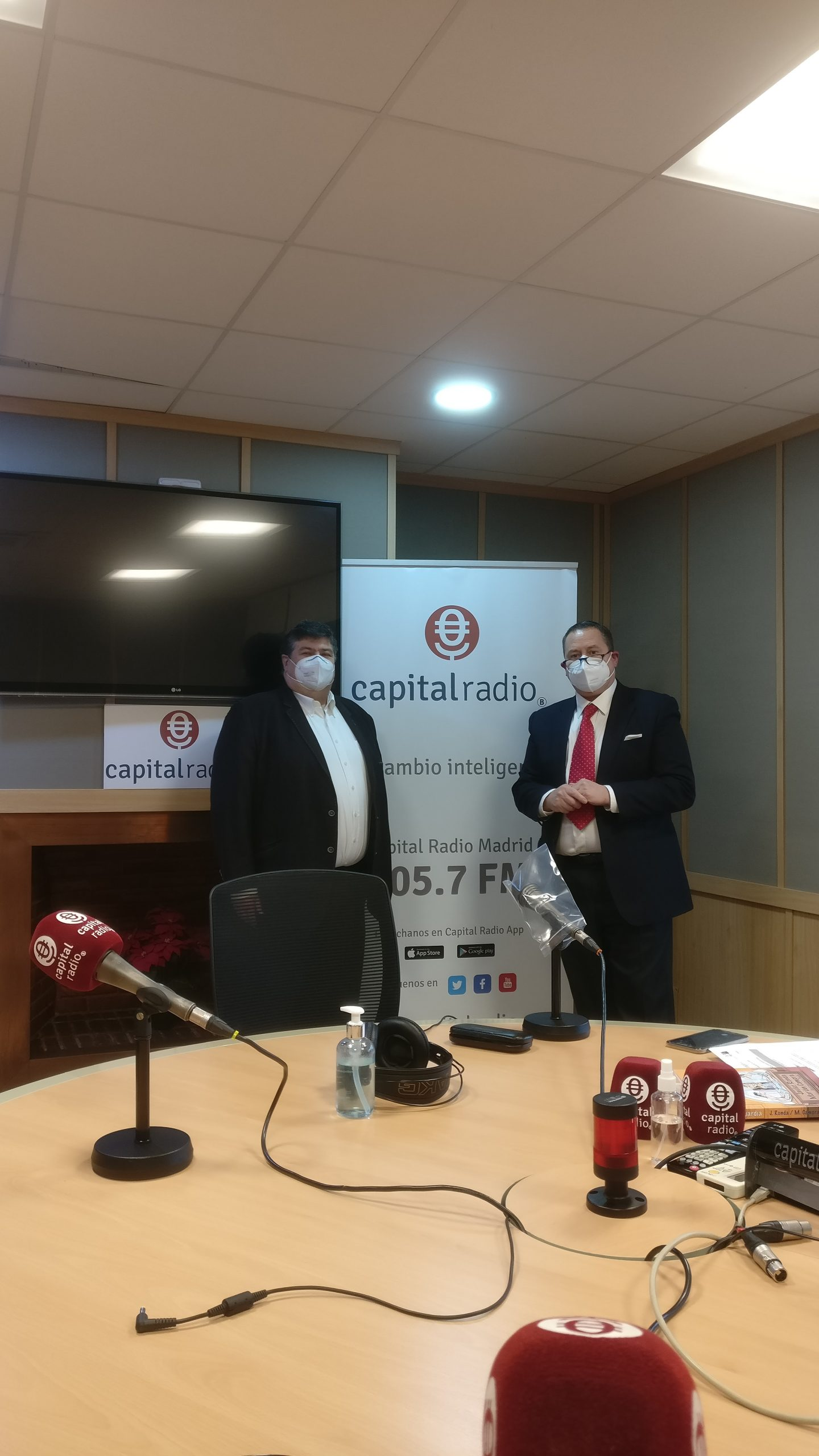 Interview with the director of the CEIEC on Capital Radio